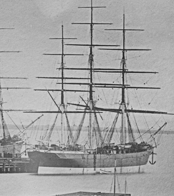Colonial Empire at Williamstown, Victoria, Australia circa 1872. Picture with acknowledgement and thanks to 'State Library of Victoria' as the source of the photo.